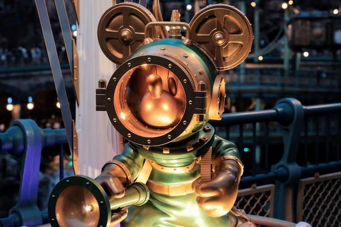 ディズニーで長秒露光撮影