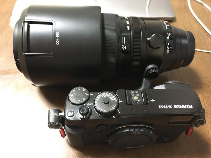 復活したX-Pro2とXF100400
