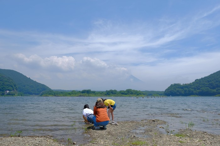 精進湖の富士山撮影スポット